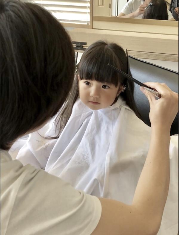 【美容師 休日】こだわり抜いた前髪