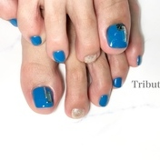 foot  Blue