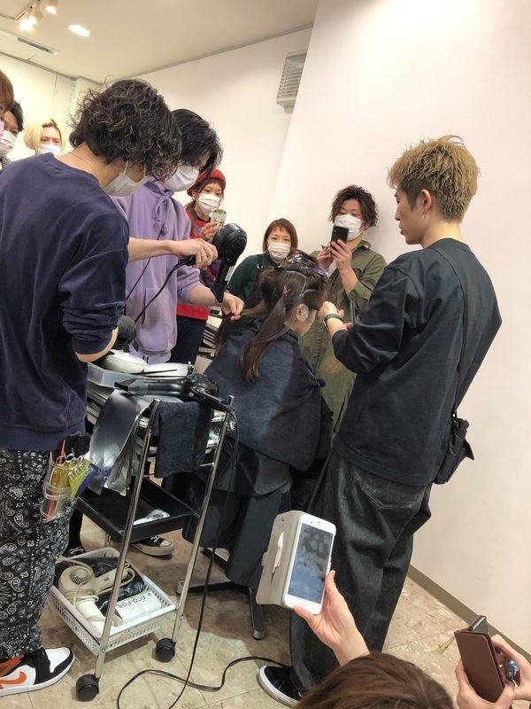 【美容師 講習会】ALIVE エアータッチ講習in小山市