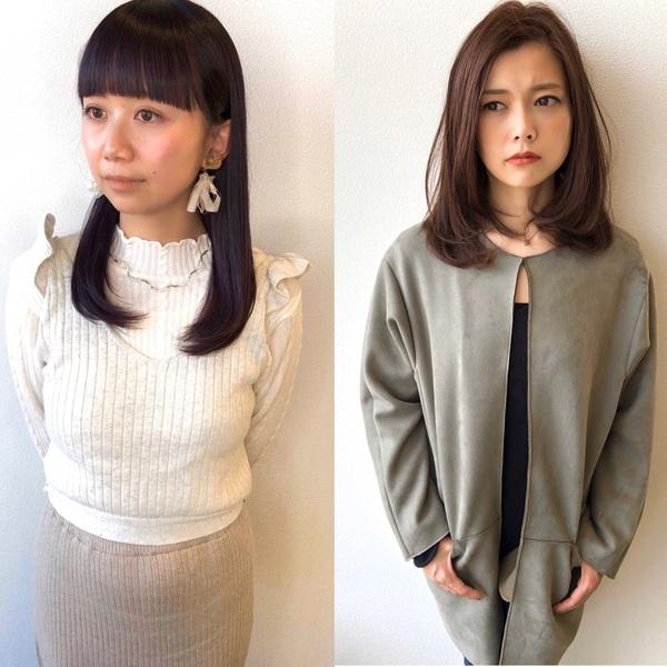 【大泉町 美容室】ラベンダー系カラーのご紹介