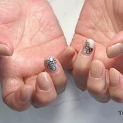 バレンタイン nail