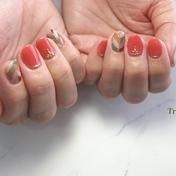 スカーレット nail